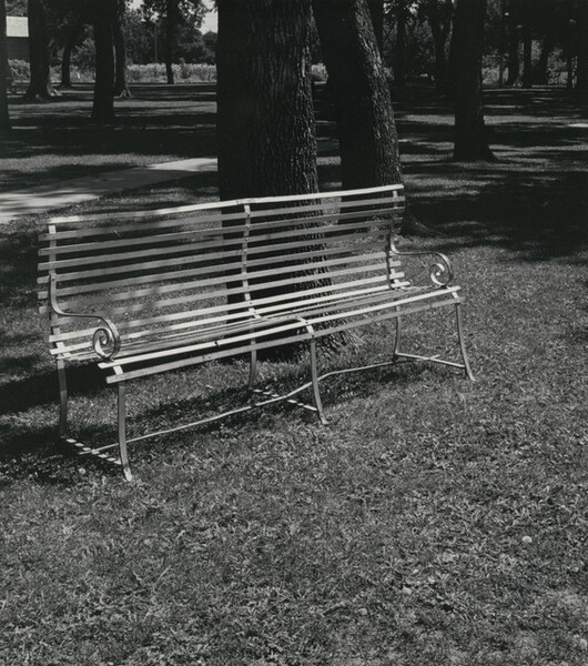 Park Bench, Central City, Nebraska