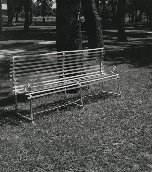 Park Bench, Central City, Nebraska