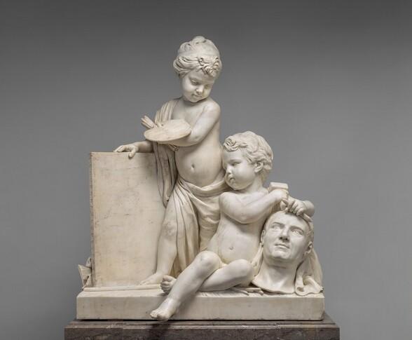 <p>Jean-Pierre-Antoine Tassaert, Painting and Sculpture, 1774/1778