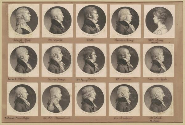 Saint-Mémin Collection of Portraits, Group 23