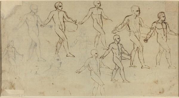 Studies of a Sower (Illustration for Thomson