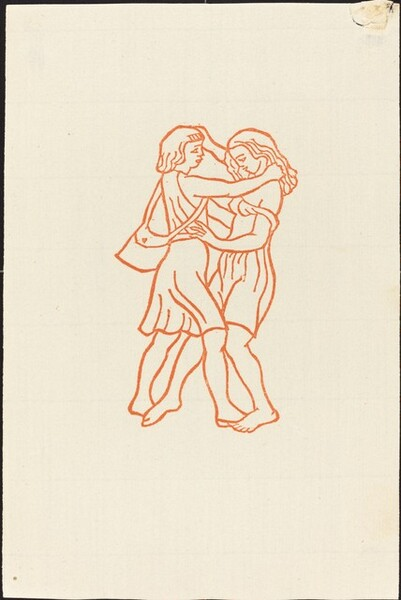 Second Book: Daphnis and Chloe Run Smiling Together (Daphnis et Chloe courent l