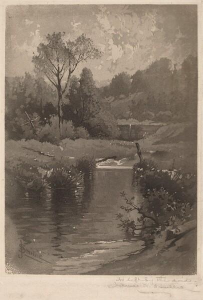 An Old Dam Near Montrose