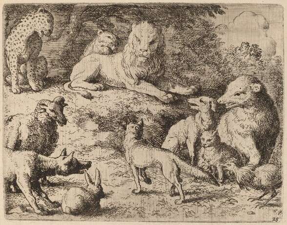 The Animals Present Their Charges Against Reynard