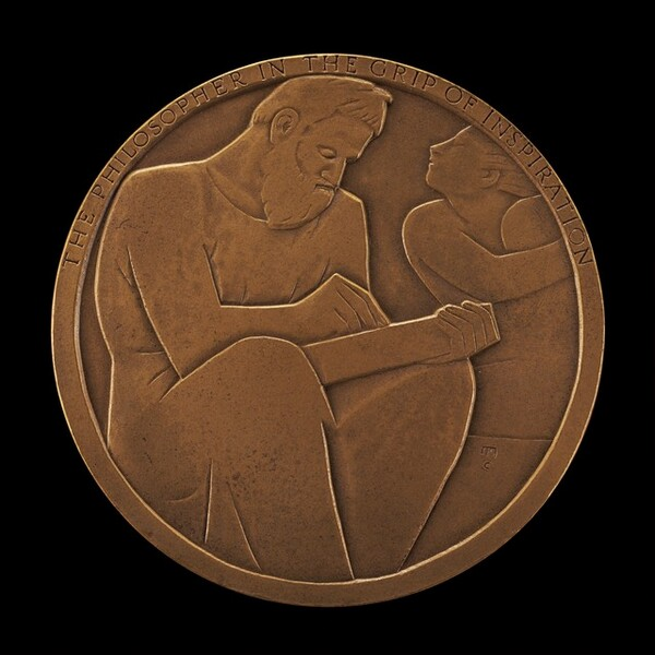 Plato: The Philosopher in the Grip of Inspiration [reverse]