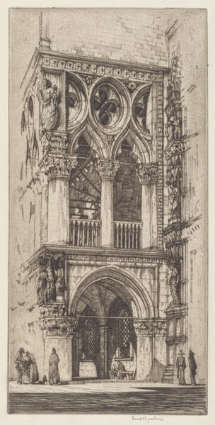 Loggia of the Doges Palace, Venice