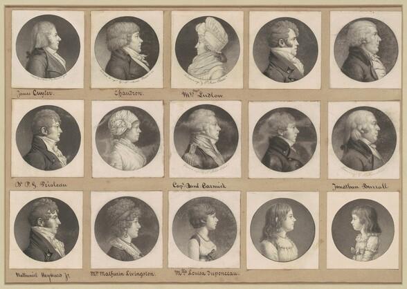 Saint-Mémin Collection of Portraits, Group 52