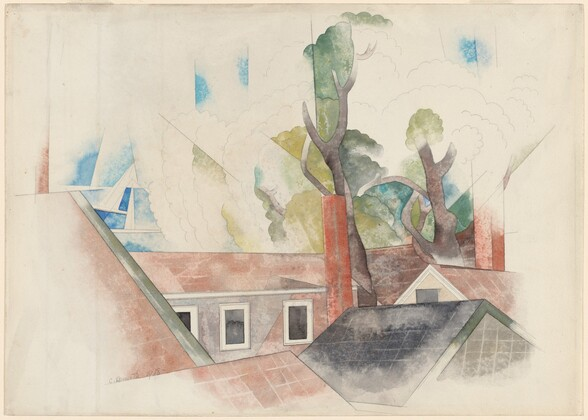 Rooftops and Trees