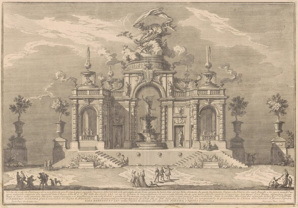 The Prima Macchina for the Chinea of 1754: The Palace of Venus in Cyprus
