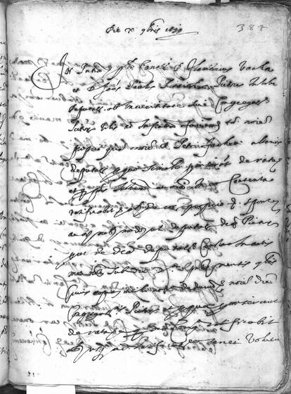 ASR, TNC, uff. 11, 1599, pt. 4, vol. 44, fol. 384r