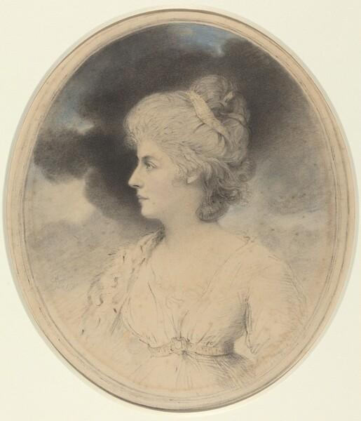 Portrait of a Woman in Profile