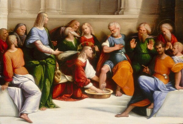 Christ Washing the Disciples