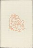 Third Book: Chloe Embraces Daphne (Chloe embrasse Daphnis)