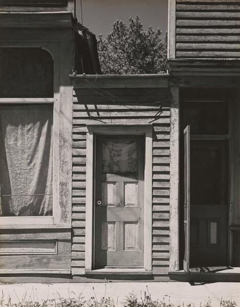 Door and Store Fronts, Beaver Crossing, Nebraska