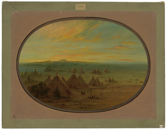A Crow Village on the Salmon River