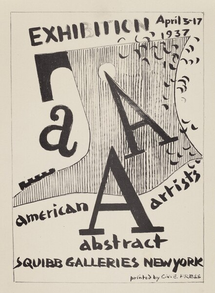 cover image for American Abstract Artists portfolio
