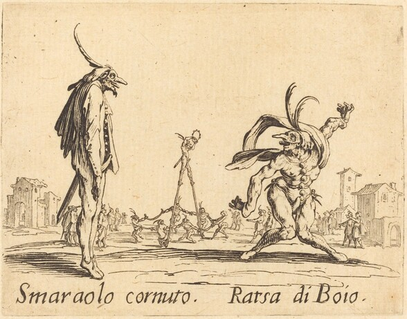 Smaralo Cornuto and Ratsa di Boio