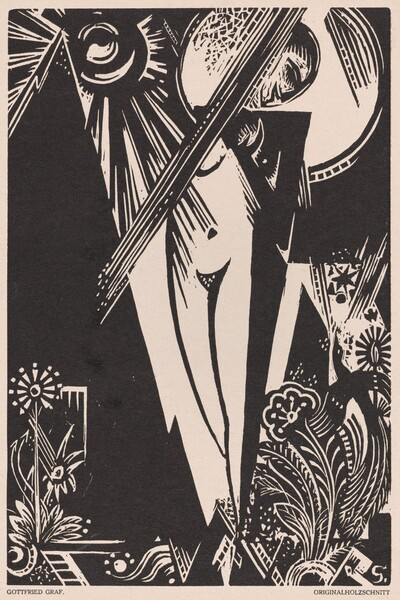 Untitled (Girl with Bird of Paradise)