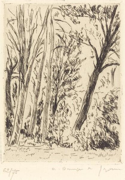 Leaning Tree, Chaville (Chaville, l