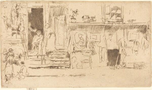 Old-Clothes Shop, No.II
