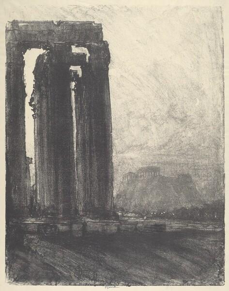 Temple of Jupiter, Evening