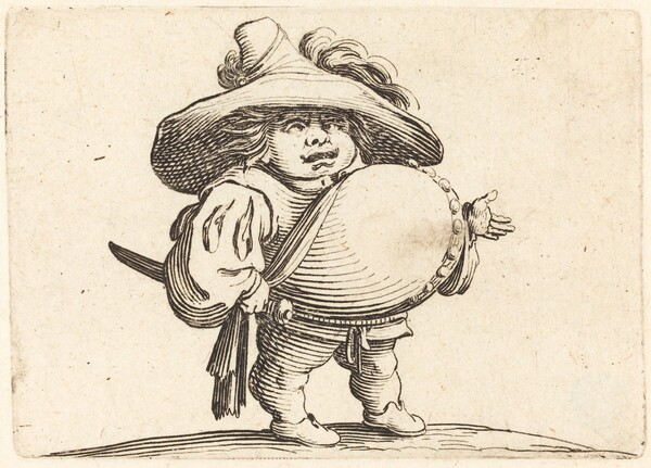 Man with Big Belly