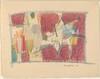 Dance II [one of two drawings on folded sheet]