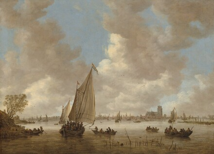 View of Dordrecht from the North