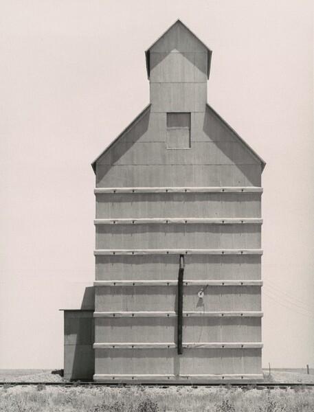 Grain elevator on the Texas Panhandle plains, Everett, Texas
