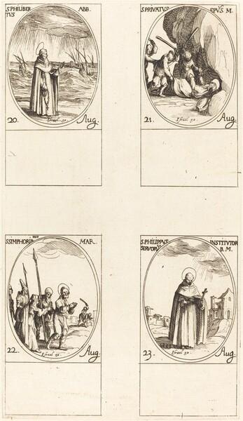 St. Philibert, Abbot; St. Privatus; St. Symphorian; St. Philip