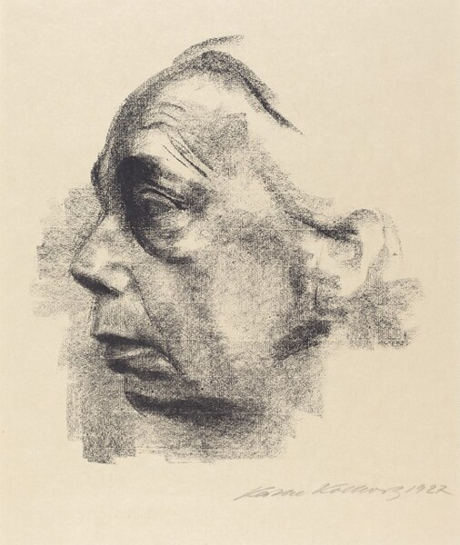 Self-Portrait in Profile (Selbstbildnis im Profil)