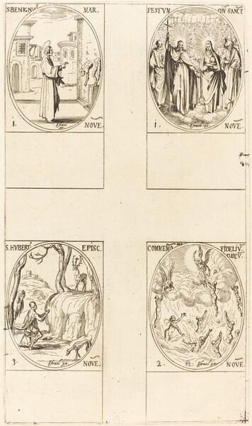 St. Benignus; Festival of All Saints; Commemoration of the Dead; St. Hubert