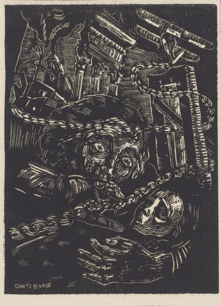 Untitled (Woman and Child in War Landscape)