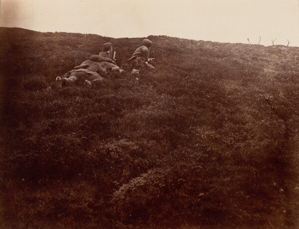 Horace and Edward Stalking Stags
