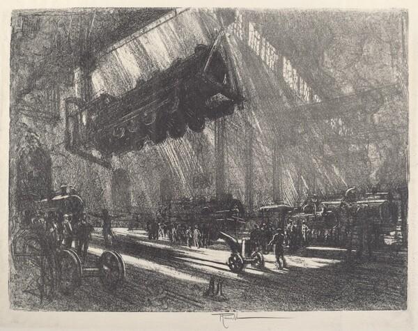 The Flying Locomotive
