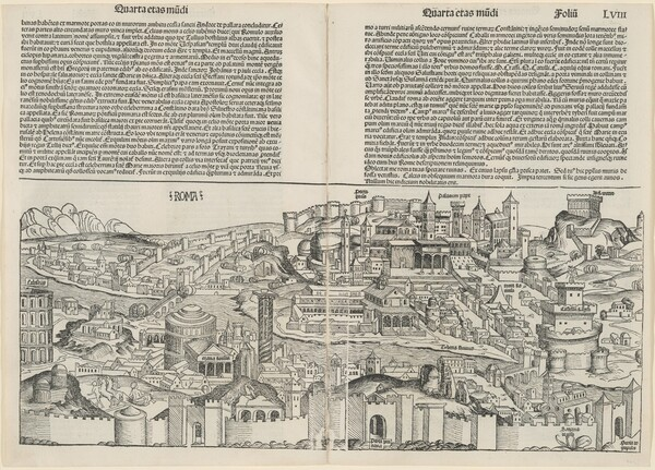 Roma, from the Liber chronicarum (Nuremberg Chronicle)