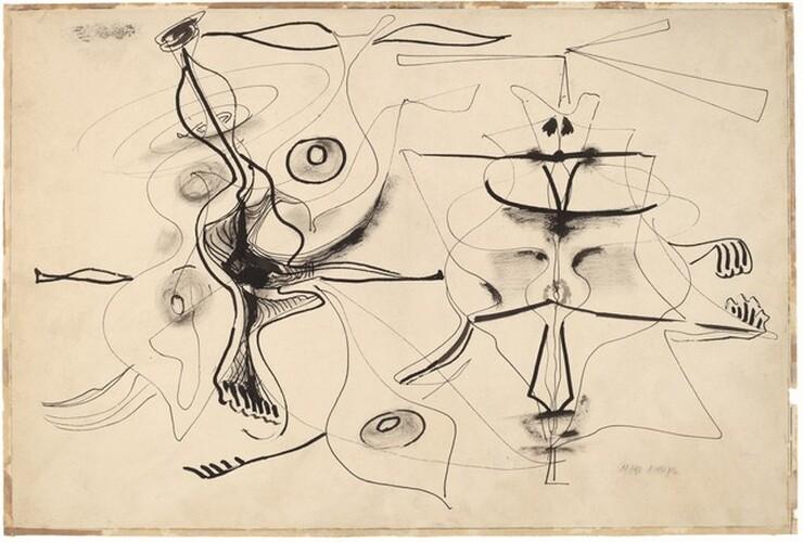 Mark Rothko, Untitled, 1944/19451944/1945