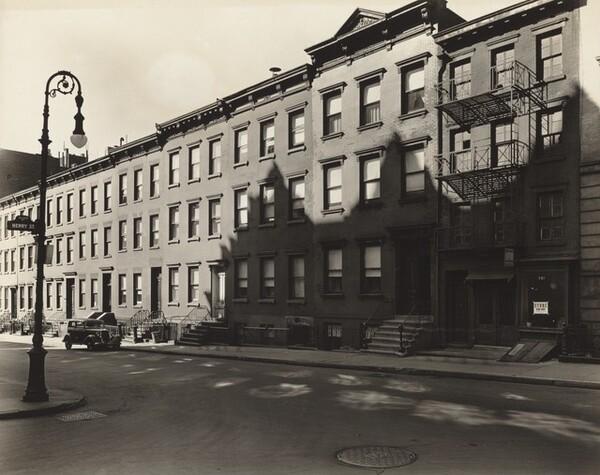 Oliver Street, Numbers 13 1/2 - 29, Manhattan