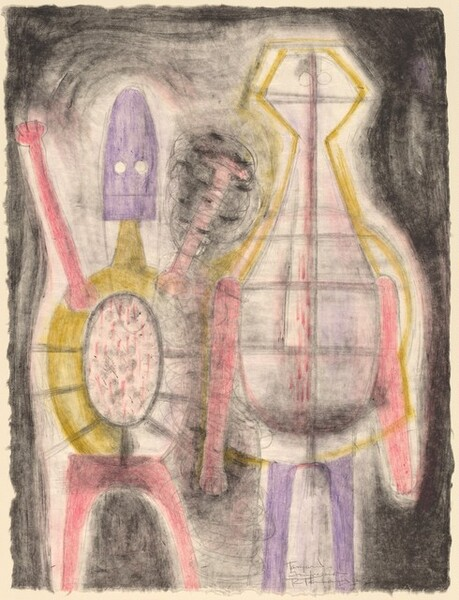 <p>Rufino Tamayo, Tamarind Institute, Deux Fils, 1964