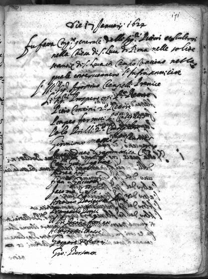 ASR, TNC, uff. 15, 1624, pt. 1, vol. 99, fol. 191r