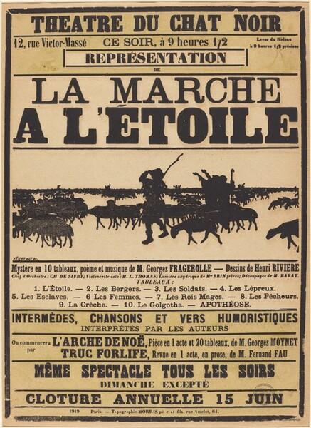 Poster for Le Chat Noir: La march à l
