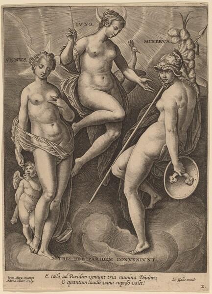 Venus, Juno and Minerva