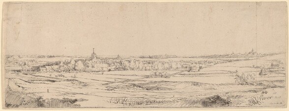Landscape with a View Toward Haarlem (The Goldweigher