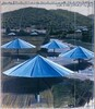 The Umbrellas, Joint Project for Japan and U.S.A. [left panel]
