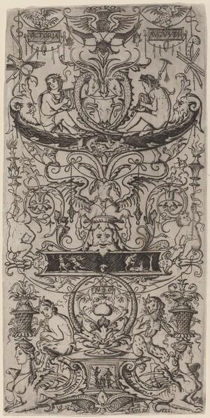 Ornament Panel: Victoria Augusta