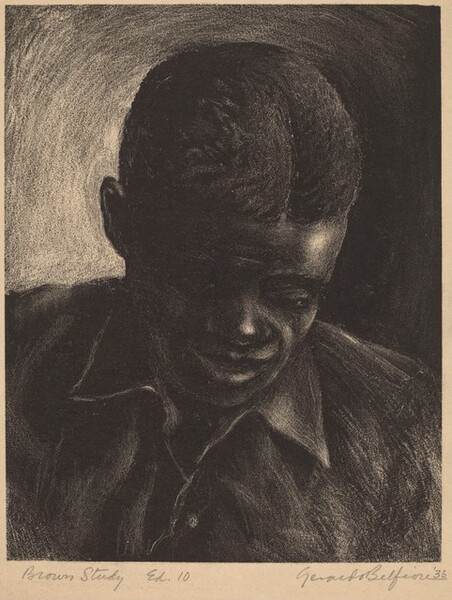 Brown Study (Portrait of Raymond)
