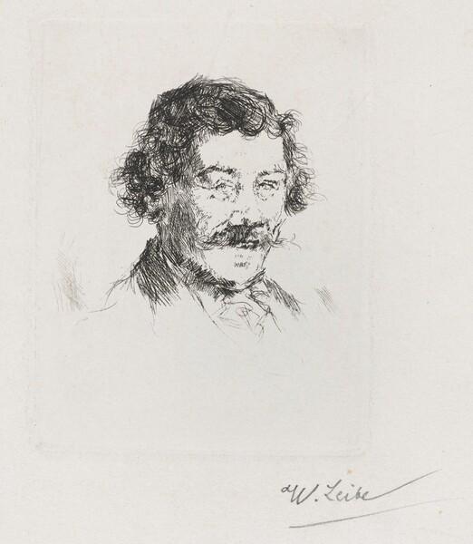 Portrait of the Painter Wopfner