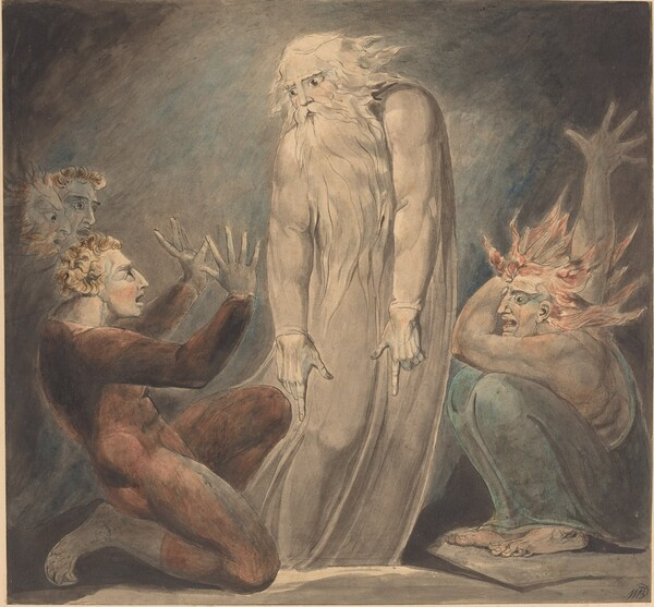 The Ghost of Samuel Appearing to Saul