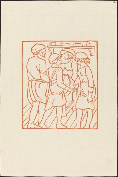Third Book: Daphnis and Chloe in Dryas