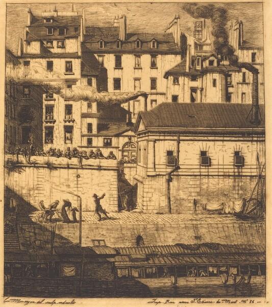 La morgue, Paris (The Mortuary)
